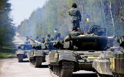 """Ukraińskie czołgi T-64 BM """"Bułat"""""""