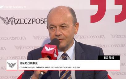 Tomasz Haiduk : Smart industry to wizja nowego przemysłu