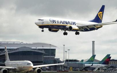 Ryanair nagradza Irlandię za decyzję pilotów