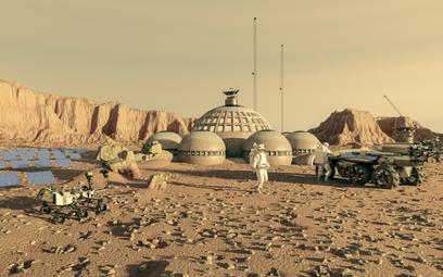 Elon Musk: Pierwsze miasta na Marsie powstaną za 20 lat