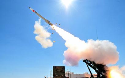 Odpalenie pocisku kierowanego PAC-3 CRI. Fot./Lockheed Martin.