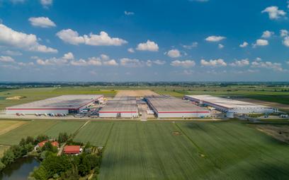Nowe magazyny pod Poznaniem, wybudowane przez spółkę P3 Logistic Parks