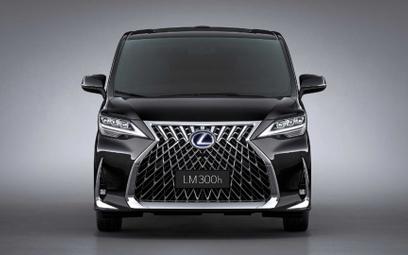 Lexus LM: Potęga grila i luksusu