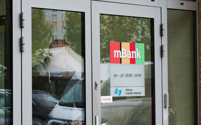 Spora strata mBanku przez franki