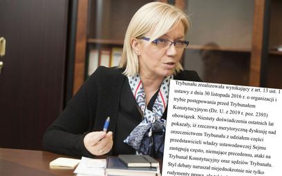 Julia Przyłębska nie spotka się z posłami. Chodzi o ataki na Trybunał Konstytucyjny