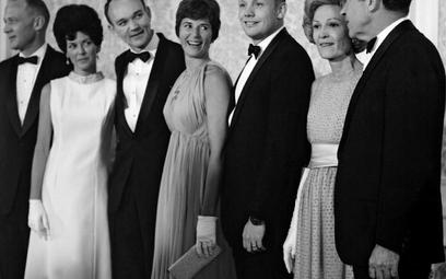 W latach 60. w kosmos latali tylko dojrzali, żonaci mężczyźni... Na zdjęciu: prezydent Richard Nixon