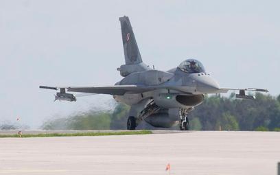 F-16 przechwyciły rosyjski samolot szpiegowski