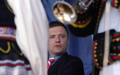 Mateusz Piskorski (były poseł Samoobrony) jest organizatorem wyjazdu dziennikarzy na Białoruś