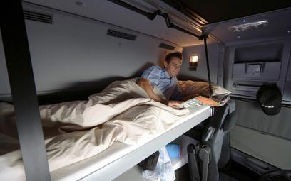 Szwajcaria zakazuje 45-godzinnego wypoczynku w kabinie