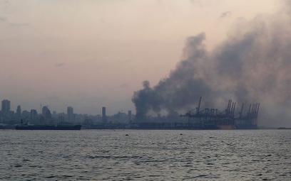 Silny wybuch w Bejrucie. Eksplodowała skonfiskowana saletra amonowa