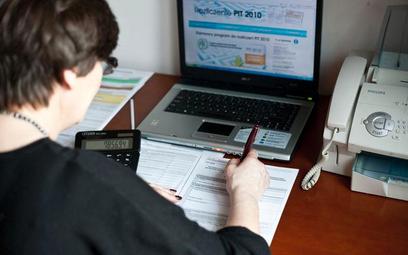 Prawie milion podatników rozliczyło się przez internet
