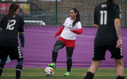 Khalida Popal na treningu