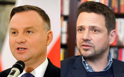 Różnica między Dudą a Trzaskowskim w granicach błędu