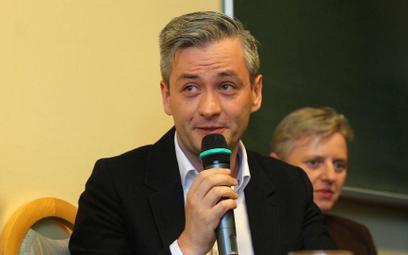 Robert Biedroń: Tresowana Barbara Nowacka dołączyła do Koalicji Obywatelskiej