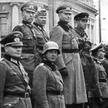 Wspólna defilada wojsk niemieckich isowieckich wokupowanej Polsce. Brześć nad Bugiem, 22 września