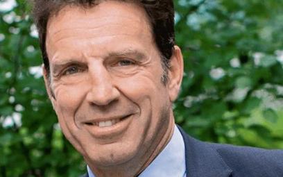 Geoffroy Roux de Bezieux, szef konfederacji francuskiego biznesu, Medef.