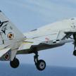 Chiński J-15 skopiowany z rosyjskiego Su-33. Fot./Wikipedia/Garudtejas7.