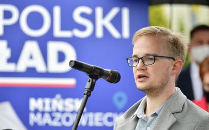 Podsekretarz stanu w ministerstwie finansów Piotr Patkowski .