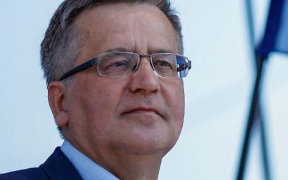 Bronisław Komorowski: Patrzę z nadzieją na ruch Hołowni