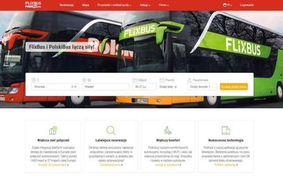 FlixBus i PolskiBus już z jedną stroną www