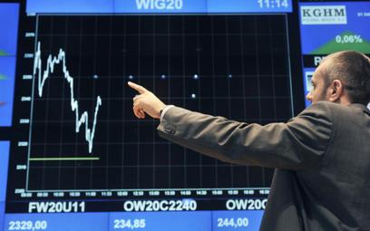 WIG 20 na otwarciu zyskiwał 0,35 proc.