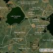 Widok z satelity na zakłady Majak