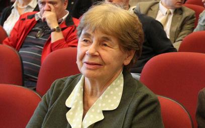 Zofia Romaszewska: Sędziowie na demonstracjach? Wyrzuciłabym