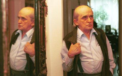 Jerzy Ficowski, zdjęcie wykonane w 1999 r.