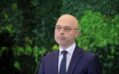 Minister klimatu i środowiska Michał Kurtyka