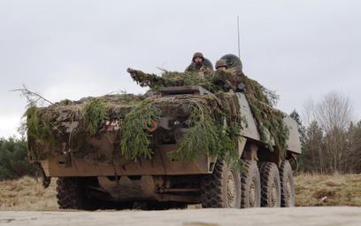 Ćwiczenia 12 Brygady Zmechanizowanej