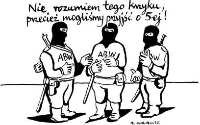 Komentarz rysunkowy. ABW