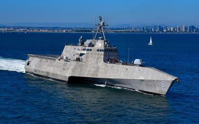 Okręt wielozadaniowy USS Montgomery typu Independence klasy LCS. Fot./US Navy.