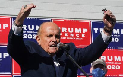 Rudy Giuliani zawieszony w czynnościach adwokackich