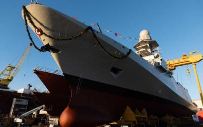 Wodowania fregaty rakietowej Spartaco Schergat. Fot. Fincantieri