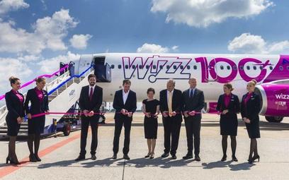 Wizz Air ma już 100 samolotów