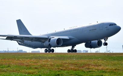 Pierwszy południowokoreański Airbus A330 MRTT. Fot. Airbus.