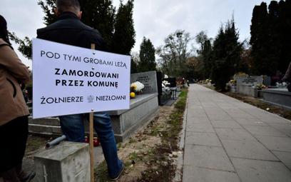 Kwatera Ł na warszawskim cmentarzu powązkowskim
