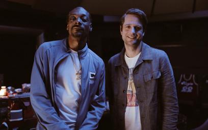 Sebastian Siemiątkowski i jeden z inwestorów, raper Snoop Dogg