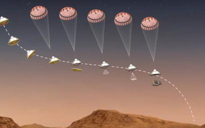 Łazik NASA ląduje na Marsie. Przełom w poszukiwaniu życia?