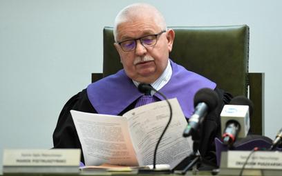 Sędzia SN Marek Pietruszyński podczas posiedzenia Izby Karnej Sądu Najwyższego