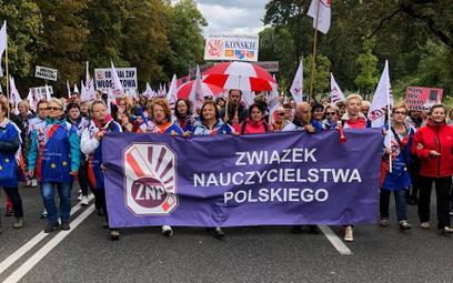Dwadzieścia tysięcy protesujących w Warszawie