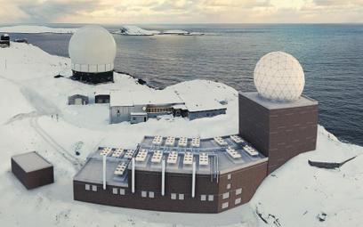 Norweska stacja radarowa Globus III w Vardo. Fot./Norwegian Intelligence Service.
