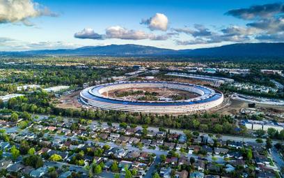 Efektowna siedziba Apple,a w Kalifornii