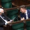 Prezes PiS Jarosław Kaczyński i minister Michał Dworczyk