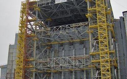 Sarkofag reaktora w Czarnobylu