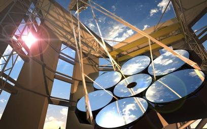 Lustra, w jakie wyposażony zostanie Gigantyczny Teleskop Magellana, ułożone będą w kształt komórki p