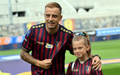 Kamil Grosicki z córką