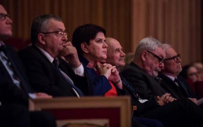 Na gali rozdania nagród w rankinu samorządów byli obecni (od lewej): Andrzej Adamczyk, minister infr