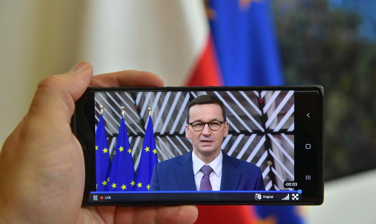 Parlament Europejski: miliardy dla Polski, ale Morawiecki musi wycofać wniosek z TK - rp.pl