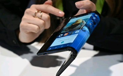 Wyginany smartfon od chińskiej firmy Royole